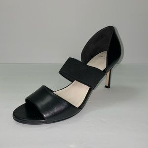 Cole Haan Grand OS Black Leather Heels